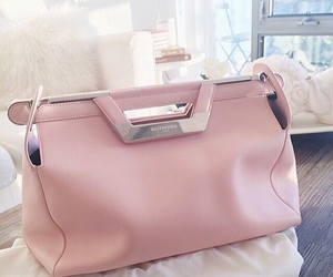 bag, Balenciaga, and pink image