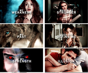 past and teen wolf image