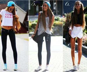 fashion, girl, and skinny image