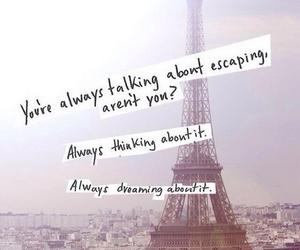 paris and quote image