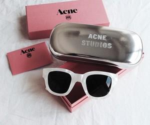 acne, fashion, and sunglasses image