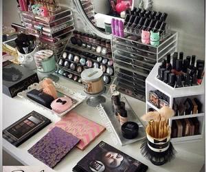 beauty, fashion, and lipstick image