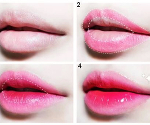 lips, beauty, and makeup image
