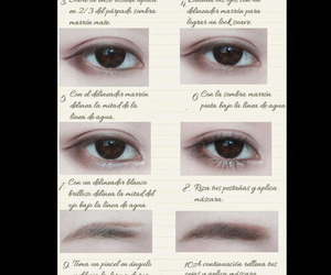 eye makeup and ulzzang makeup image