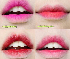 lips and korean image