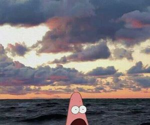 patrick, sea, and funny image