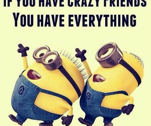 minions, quote, and friends image