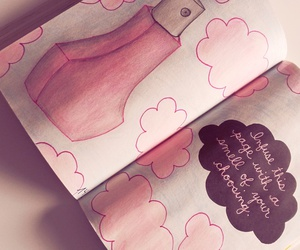 perfume, wreck this journal, and ♡ image