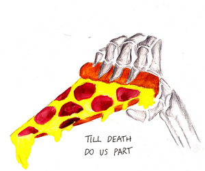 pizza and death image