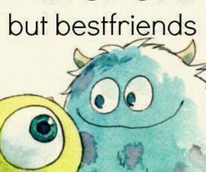 best friends, different, and monsters image