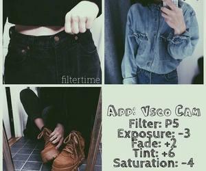 app, black, and instagram image