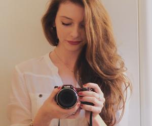 blog, blogger, and brunette image