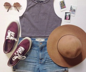 summer, style, and fashion image