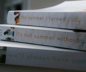 book, summer, and trilogy image