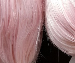 japan, pinky, and wigs image