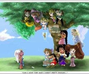 disney, princess, and kida image