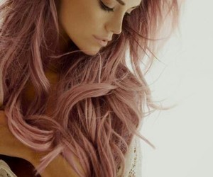 color, pink, and hair image