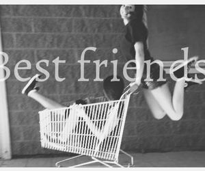 best friends, crazy, and friendship image