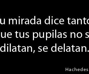 frases and mirada image