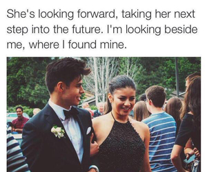 couple, goals, and quote image