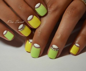 fashion, yellow, and green image