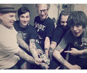 frank iero, my chemical romance, and the cellabration image