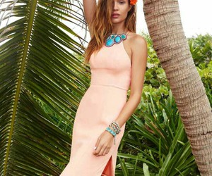 josephine skriver and tropical image