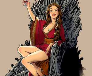 game of thrones, cersei, and cersei lannister image