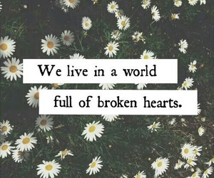 world, broken, and sad image