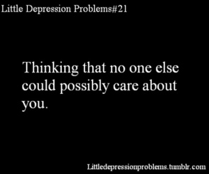 depression and problems image