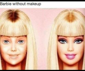barbie, beauty, and funny image
