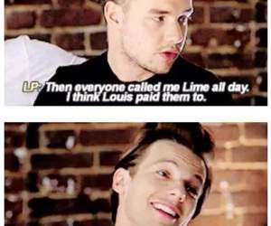 louis tomlinson, liam payne, and one direction image
