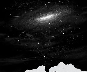 galaxy, universe, and art image