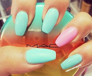 nails, mac, and fashion image