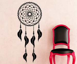 dream catcher, home decor, and wall decals image