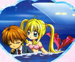 kaito, anime, and mermaid melody image