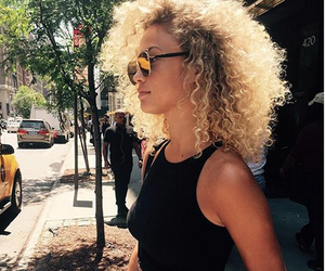 curls, fashion, and girl image
