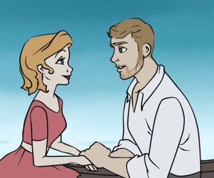 calvin harris, couple, and draw image