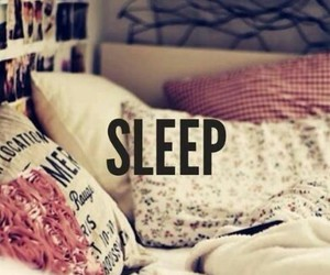 sleep, bed, and Dream image