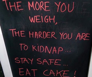 cake, eat, and funny image