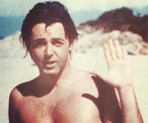 beach, beatles, and Paul McCartney image