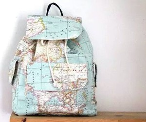 backpack, blue, and travel image