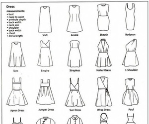 dress and drawing image