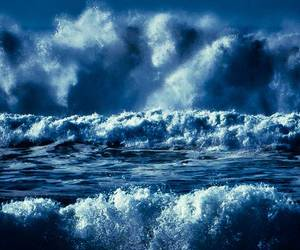ocean, storm, and waves image