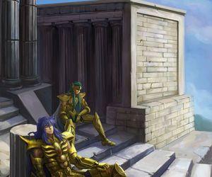 cavaleiros do zodíaco and milo e camus image