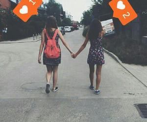 friendships, bestfriends, and summer image