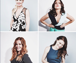 Emilie de Ravin, rebecca mader, and ouat cast image