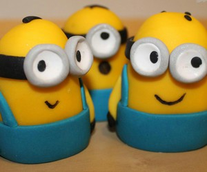 minions, yellow, and great image