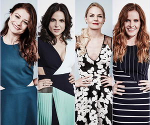 Emilie de Ravin, Jennifer Morrison, and queens image