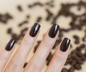black, fashion, and nail polish image